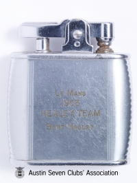TR0049 : Bert Hadley - Le Mans - Healey Team Cigarette lighter - 1953