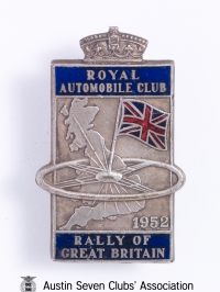 TR0050 : Bert Hadley - R.A.C. - Rally of Great Britain - 1952