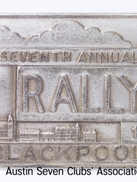 TR0051 : Bert Hadley - Seventh Annual R.A.C. Rally - Blackpool - 1938