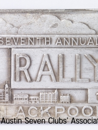 TR0052 : Bert Hadley - Seventh Annual R.A.C. Rally - Blackpool - 1938