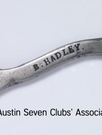 TR0053 : Bert Hadley - Aprenticeship spanner - 1930