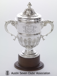 TR0002 : A Waite, Brooklands - Easter Small Car Handicap - 1st prize - 1923