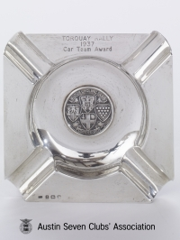 TR0026 : - Torquay Rally - Car team award - 1937