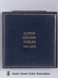 TR0039 : - Austin Golden Jubilee 1905 - 1955 - Box closed