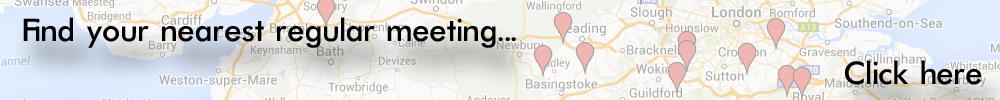 Austin Seven Club Meeting Map